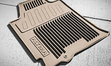 OEM NEW Front & Rear All Weather Floor Mats Tan Beige 13-14 Altima 999E1UZ101