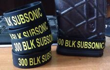 300 AAC Blackout SUBSONIC Magazine ID Band. 300 BLK SUBSONIC Mag ID 4 Pack Only