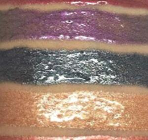 👄Goth Cosplay Metallic Black Chrome Lipstick Cream Bourjois Lip Colour X 3👄
