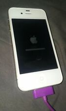 Apple iPhone 4s - 32GB - White (C-Spire) Smartphone