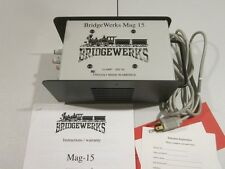 BRIDGEWERKS MAG-15  POWER SUPPLY 15 AMP - WORKS WELL WITH LGB