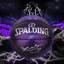 New Spalding Black Mamba Kobe Bryant 24k Basketball Pearl purple packing box