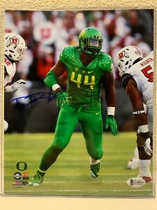 Deforest Buckner signed Oregon Ducks 8x10 Photo Beckett
