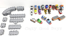 Thomas & Friends Take 'n Play 17 Trains & 21 Pc Expansion Track Set w/ Carts