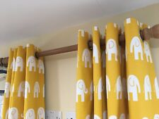 Made to Measure Double Width Lined Curtains - Supply own fabrics