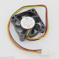 1pc Brushless DC Cooling Fan 40x40x10mm 40mm 4010 7 blades 5V 3pin Connector