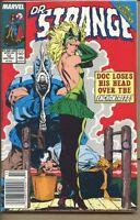 Doctor Strange Sorcerer Supreme 1988 series # 12 UPC code very fine comic book