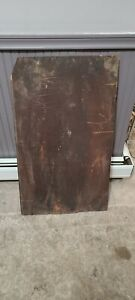 """large Antique Mahogany board 39x22 inches 5/8"""" thick 200 years old"""