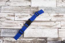Brustgurt für Schulranzen, 25 mm Rucksack, neu. blau