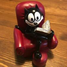 FELIX THE CAT Ashtray Figurine Sofa-Shaped Tray Figure accessory case Japan 2006