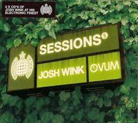 JOSH WINK sessions (2X CD mixed) MOSCD123 house techno