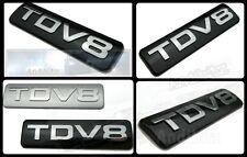 Range Rover Vogue Disco Cromo Negro tdv8 Trasero posterior arranque Placa Portón Trasero Ultimate