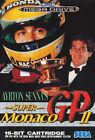 ## NEUWERTIG: SEGA Mega Drive - Ayrton Senna´s Super Monaco Grand Prix GP 2 ##