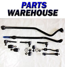11 Pc Suspension Kit For Jeep Wrangler 97-06 Ball Joints Ends Track 2Yr Warranty