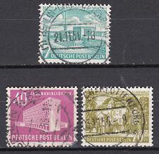 Berlín 1954 mié. nº 121-123 top plenamente sello con sello de lujo!!! (12966)