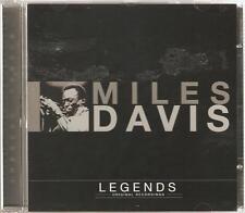 MILES DAVIS LEGENDS ORIGINAL RECORDINGS CD - SO WHAT & MORE