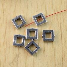 30pcs Tibetan silver cuboid frame spacer beads H1194