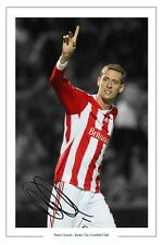 PETER CROUCH STOKE CITY SIGNED PHOTO AUTOGRAPH PRINT POSTER SOCCER