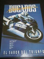 DUCADOS  TOBACCO CIGARETTE TABAC TABACO -  AD PUBLICITE ANUNCIO - SPANISH - 2147