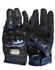 NEW! Carbon CFTH Fiber Pro-Biker Bike Motorcycle Motorbike Racing Gloves Full XL