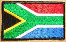 SOUTH AFRICA Country Flag Embroidered PATCH