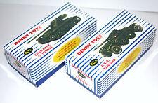 DINKY Reproduction Box 80a & 80c Char A.M.X. & E.B.R. Panhard