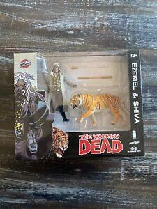 McFarlane Toys The Walking Dead Skybound Exclusive Ezekiel & Shiva Tiger Figures