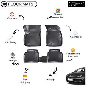 Custom Molded Rubber Floor Mat for Opel Insignia 2016-Up (Black)