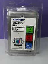 New Sealed Securitron Assa Abloy Eeb2 Emergency Exit Button Green Red Lens Timer