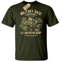 American Jeep T-Shirt Mens us army usa military army