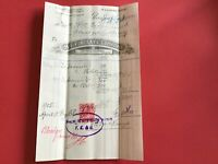 M.F. Findlay and Co Explosive Merchants 1905   Glasgow Saxonite  Receipt  R33019