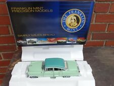 Franklin Mint 1955 Cadillac Fleetwood 1:24 Scale Diecast Limited Edition Car