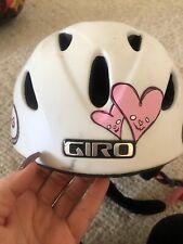 Girls GIRO Ski helmet small Holds Goggles