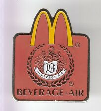 RARE PINS PIN'S .. MC DONALD'S RESTAURANT BEVERAGE-AIR FOOD MATERIEL GLACE 3D~17