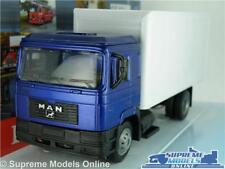 MAN F2000 MODEL TRUCK 1:43 SCALE BOX LORRY IDEAL OWN ADVERT CODE 3 N.RAY K8