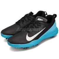 check out 7520a 19eeb Nike Lunar Command 2 II Black Silver Blue Men Golf Shoes Sneakers 849968-004