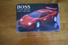 """HUGO BOSS Red """"Lambo"""" Lamborghini ~RC Car~ w/ Headlights _Ltd Promo_ Great Power"""