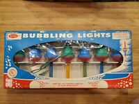 Vtg Yule Glo Bubbling Lights 1950s 1960s Christmas
