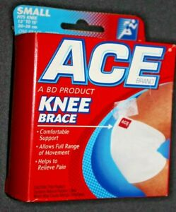 """ACE Knee Brace - Small - Fits Knee 12-15"""" - One Brace - Fits Right or Left Knee"""