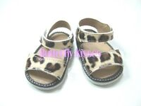 Leopard Print Sandals 18  in Doll Clothes Fits American Girl Dolls
