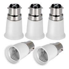 OnvianTech B22 to E27 5-Pack Lamp Holder Converter Base Bulb Socket Adapter LED