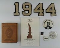 Lot of Lehigh University Pins, Vintage Numbers & Memorabilia