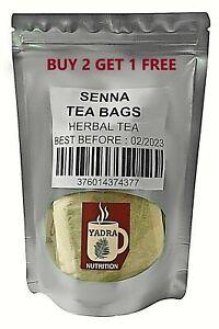 Premium Senna Tea Bags 100% All-natural Weight Loss and Detox Buy 2 Get 1 Free