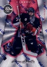 1997-98 Pinnacle Totally Certified Platinum Red  Hockey Card #7 Steve Shields RC
