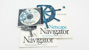Netscape Navigator Personal Edition Vintage Software CD + User Guide