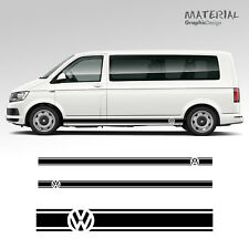 Volkswagen VW Transporter Side Stripe Decals  T4 T5 T6 Campervan Vehicle Graphic
