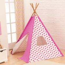 KidKraft Teepee, Pink - Brand New in Box - Made with Quality - Makes Great Gift