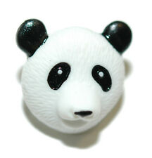 CUTE PANDA HEAD TIE PIN TACK (063)