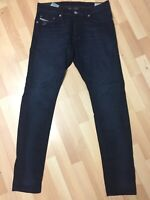 WORN MEN Diesel TEPPHAR Stretch Denim 0848D DARK BLUE Slim W32 L32 H6 RRP£150