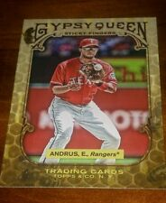 TEXAS RANGERS ELVIS ANDRUS 2011 TOPPS GYPSY QUEEN STICKY FINGERS #SF5
